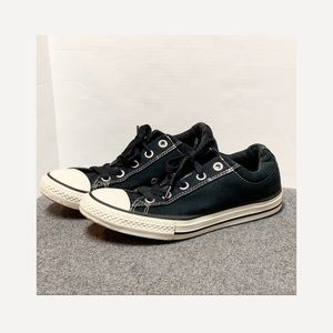 Converse Black Madison Padded Low Top 3.5 5